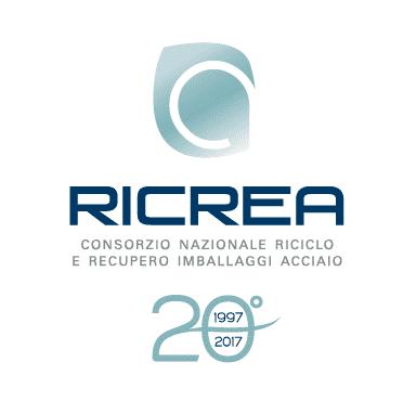 RICREA: il logo dei 20 anni