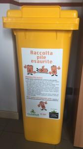 ERP Italia - contenitre per la raccolta delle pile