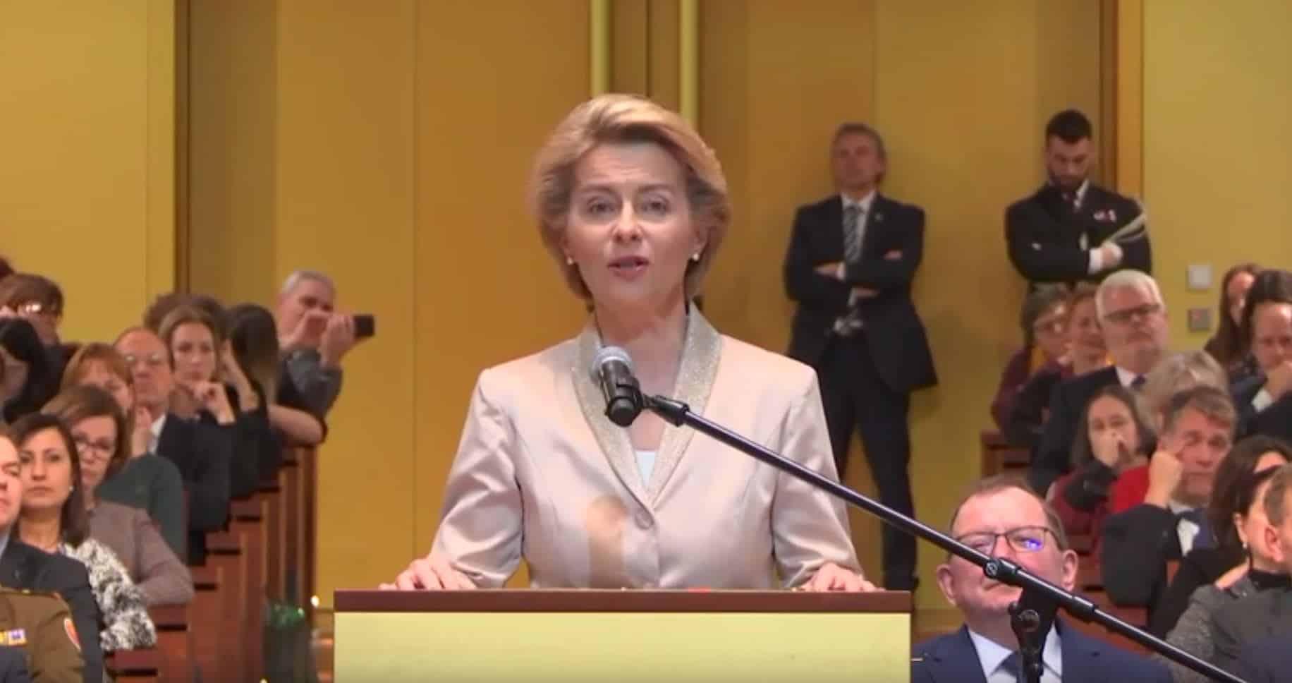 Ursula van der Leyen - Presidente della Commissione Europea