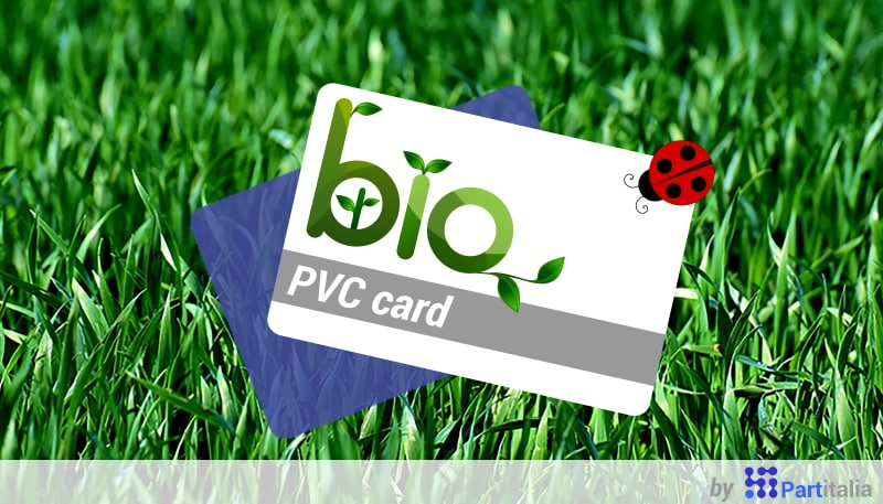 Smart Card in PVC biodegradabile