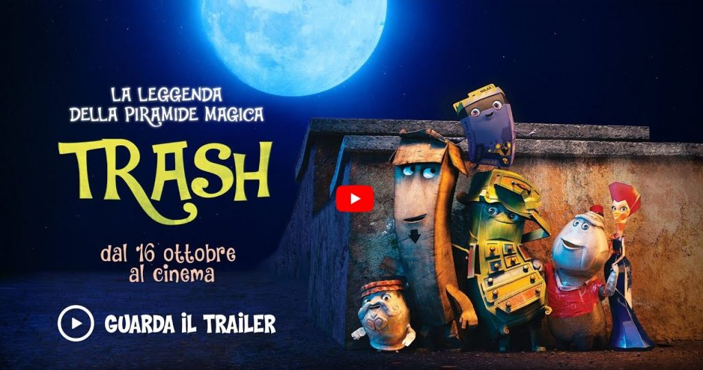 Il trailer di Trash