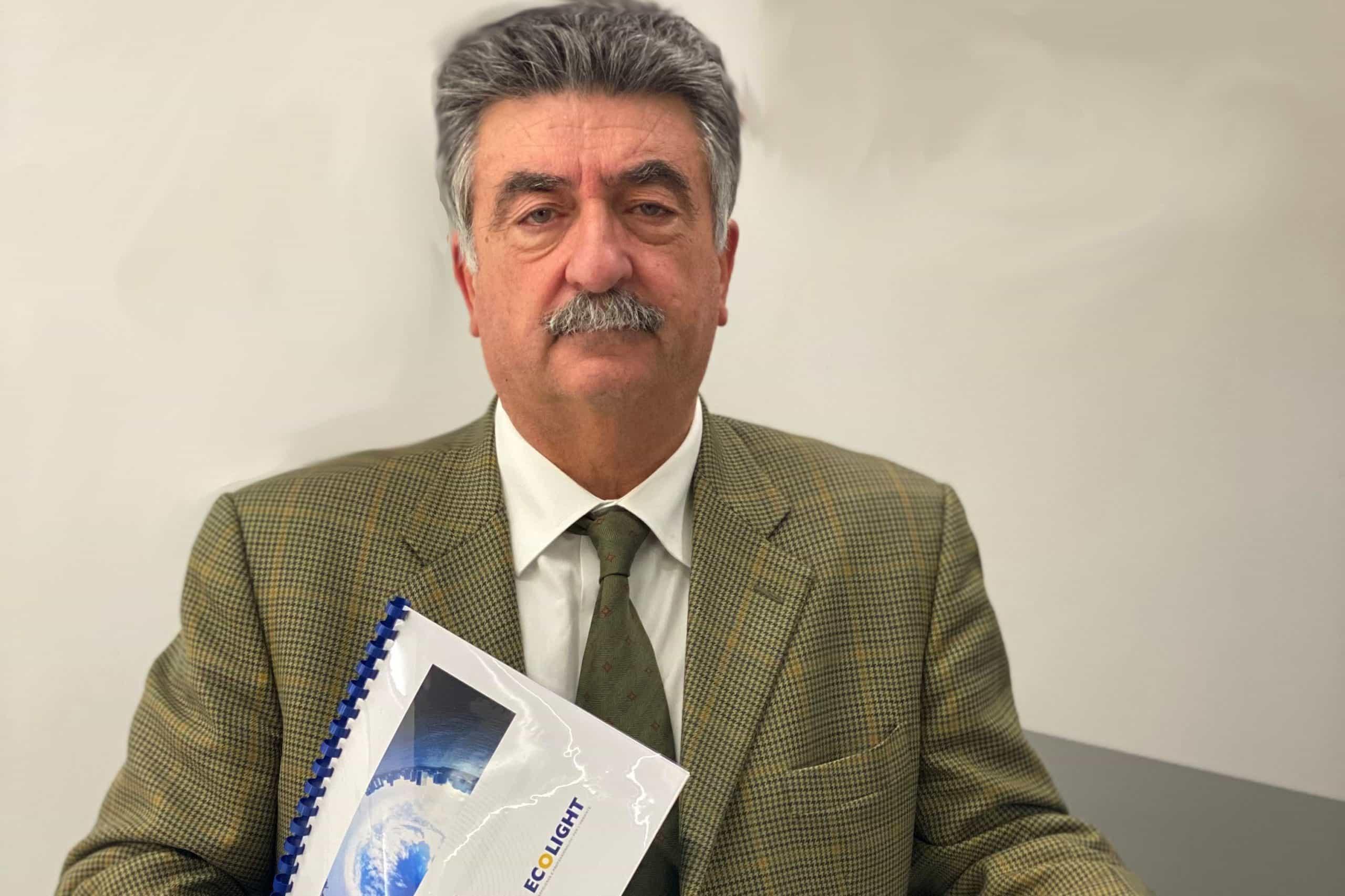 Walter Camarda Presidente Ecolight