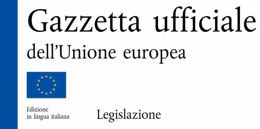 Gazzetta Ufficiale Unione Europea