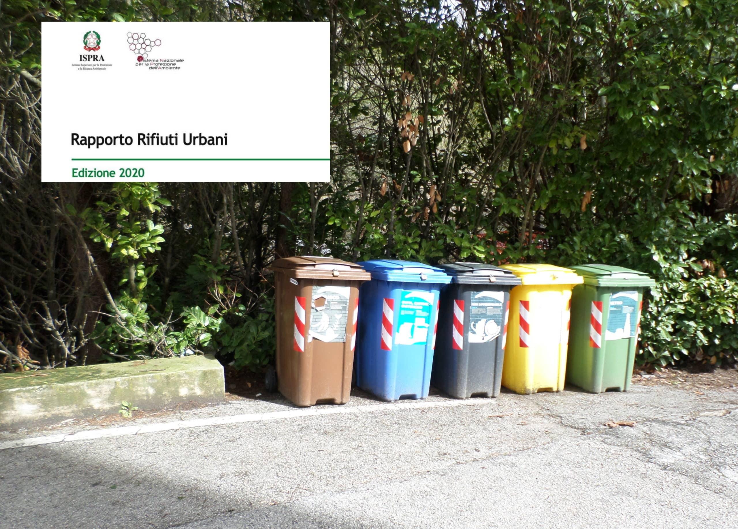 ISPRA Rpporto rifiuti 2020