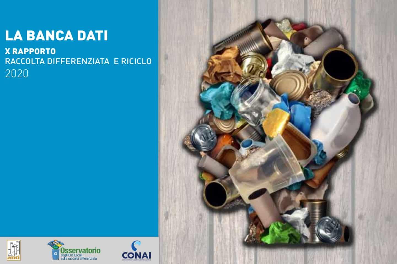 Rapporto banca Dati ANCI-CONAI 2020