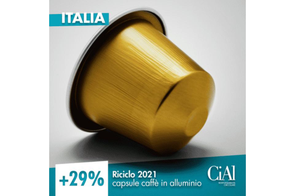 CIAL capsule caffè alluminio
